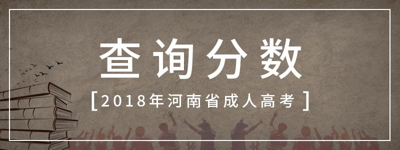 2018年河南省成人高考录取查询须知
